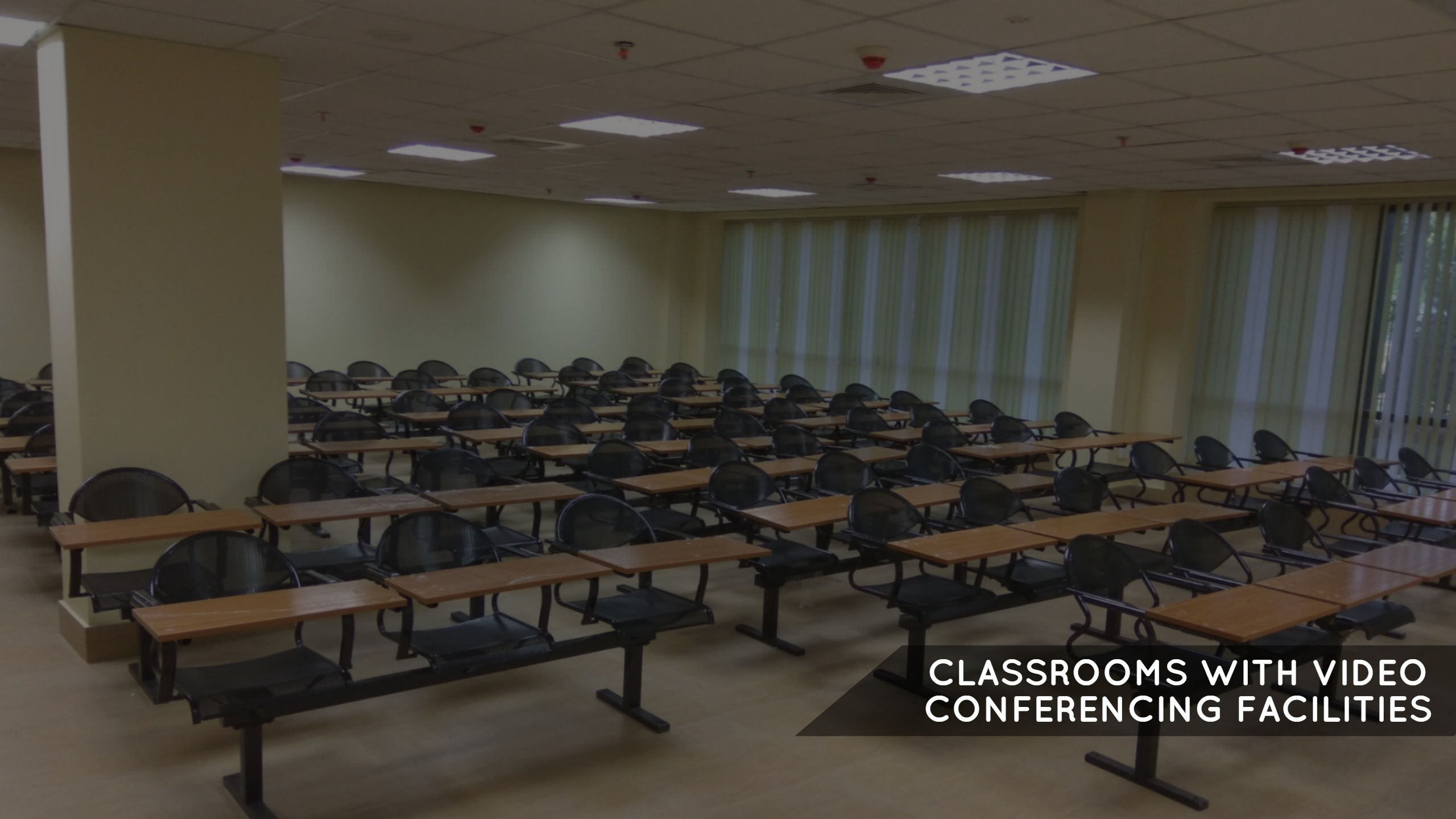 Air Conditioned Classrooms